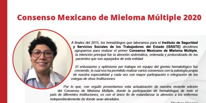 Consenso Mexicano de Mieloma Múltiple 2020